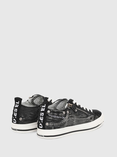 Diesel - EXPO-ZIP LOW W, Black Jeans - Sneakers - Image 3