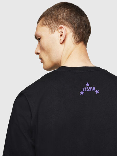Diesel - T-JUST-A12, Black - T-Shirts - Image 4
