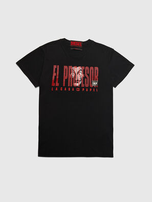 LCP-T-DIEGO-ELPROFES, Black - T-Shirts