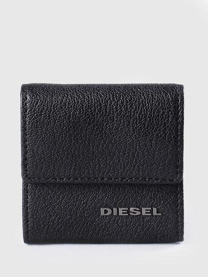 Diesel - KOPPER, Black Leather - Small Wallets - Image 1