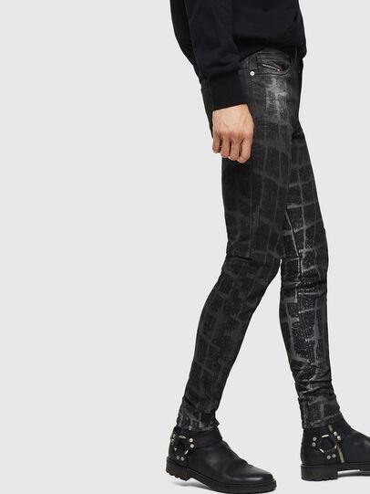 Diesel - D-Reeft JoggJeans 0094M, Black/Dark grey - Jeans - Image 6