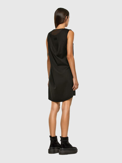 Diesel - D-PLEADY, Black - Dresses - Image 6