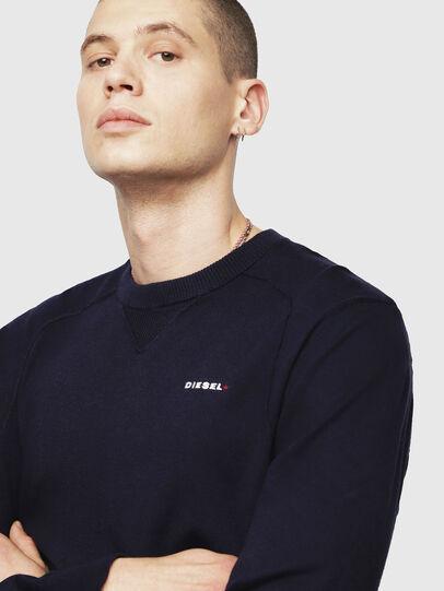 Diesel - K-LAUX, Dark Blue - Knitwear - Image 3