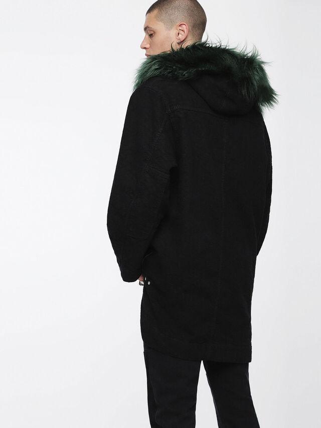Diesel - D-ANNY, Black - Winter Jackets - Image 2