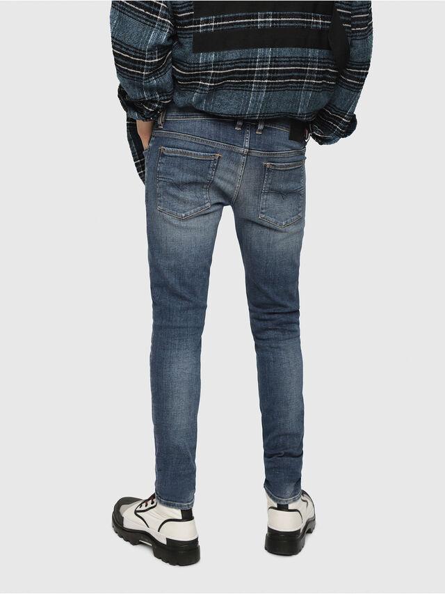 Diesel - Sleenker 082AB, Medium blue - Jeans - Image 2