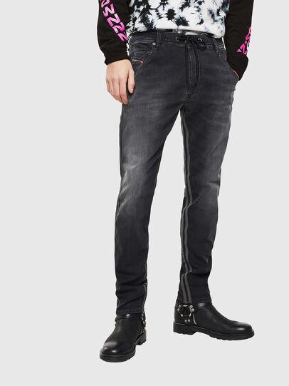 Diesel - Krooley JoggJeans 0094Q, Black/Dark grey - Jeans - Image 1