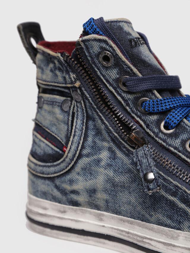Diesel - EXPO-ZIP W, Blue Jeans - Sneakers - Image 4