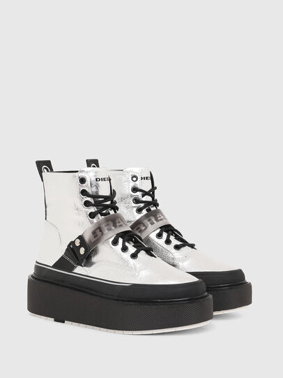 Diesel - H-SCIROCCO STRAP, Silver - Sneakers - Image 2