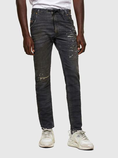 Diesel - Krooley JoggJeans® 069SX, Black/Dark grey - Jeans - Image 1