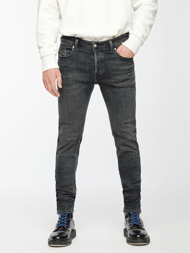 Diesel - Sleenker 084VQ, Black/Dark grey - Jeans - Image 1