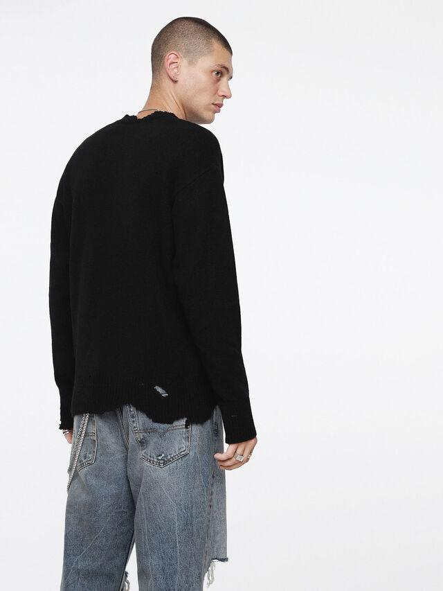 Diesel - K-MUST, Black - Knitwear - Image 2