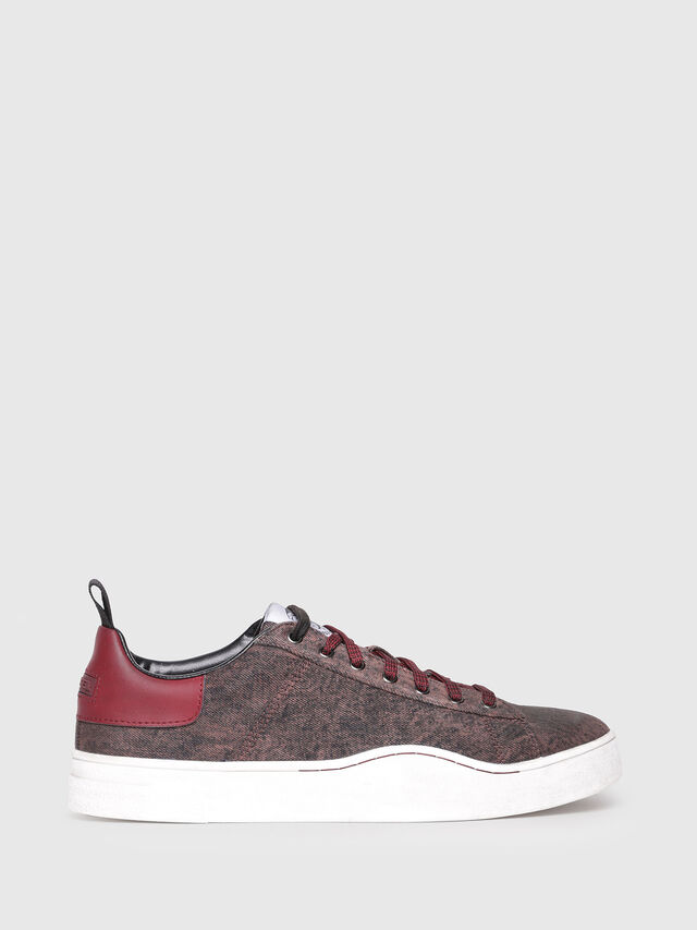 Diesel - S-CLEVER LOW, Bordeaux - Sneakers - Image 1