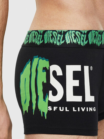 Diesel - UMBX-DAMIEN, Black/Green - Trunks - Image 3