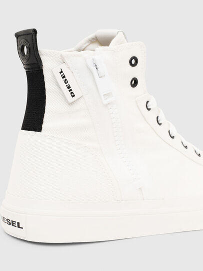 Diesel - S-ASTICO MID ZIP, White - Sneakers - Image 5
