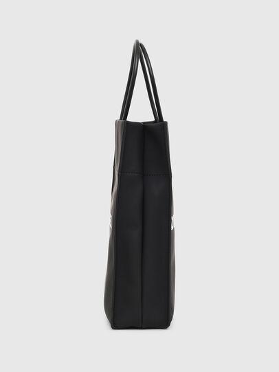 Diesel - SAKETTINO, Black - Shopping and Shoulder Bags - Image 3