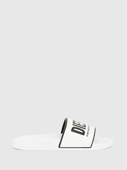 Diesel - SA-VALLA, White - Slippers - Image 1