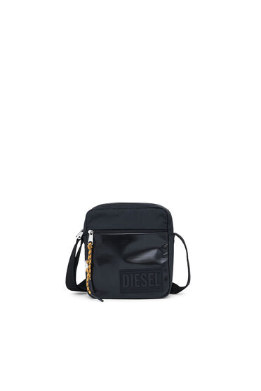 Cross-body in ripstop with coated pockets