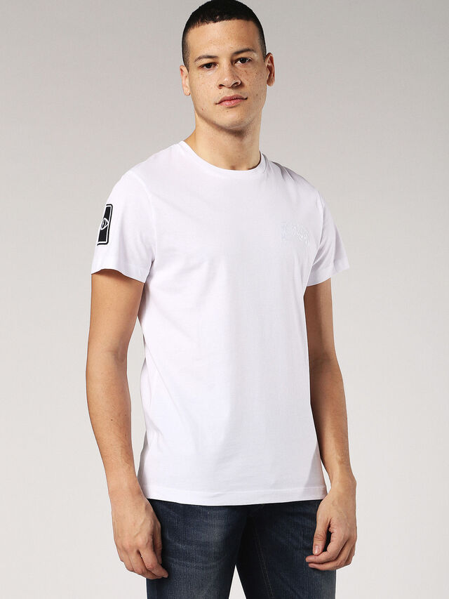 T-DIEGO-SS, White