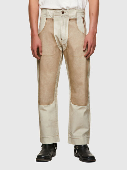 Diesel - DxD-5, White - Pants - Image 2