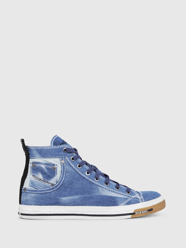 Diesel - EXPOSURE I, Blue Jeans - Sneakers - Image 1