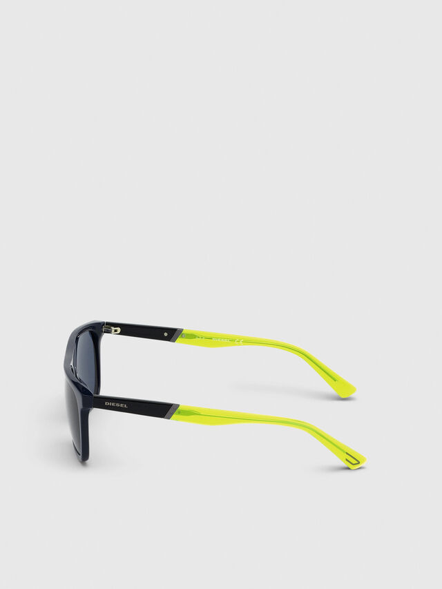 Diesel - DL0299-F, Blue/Yellow - Sunglasses - Image 3