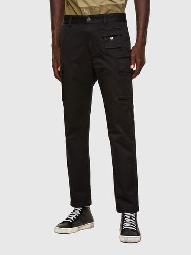 Cargo pants in cotton twill