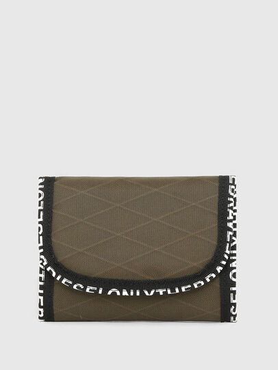 Diesel - YOSHINO VERT, Green Camouflage - Small Wallets - Image 1
