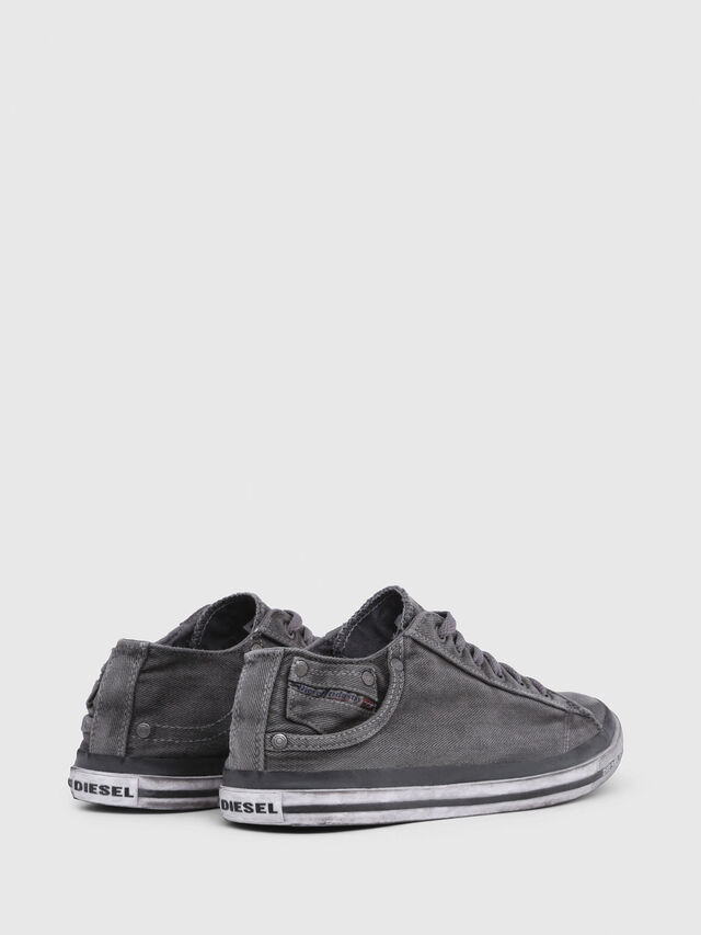 Diesel EXPOSURE LOW I, Metal Grey - Sneakers - Image 3
