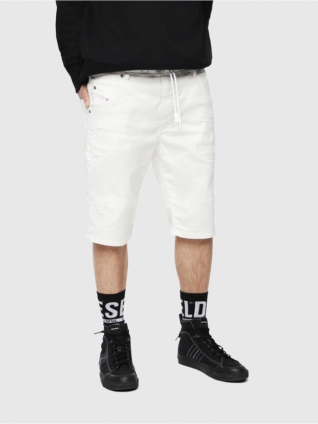 D-KROOSHORT JOGGJEANS, White - Shorts