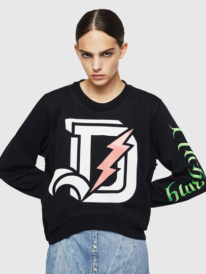 Diesel - F-LYANYDY-A, Black - Sweaters - Image 4