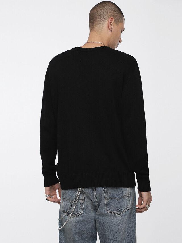 Diesel - K-BLAKK, Black - Knitwear - Image 2