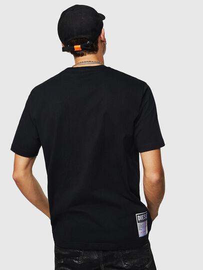 Diesel - T-JUST-B23, Black - T-Shirts - Image 3
