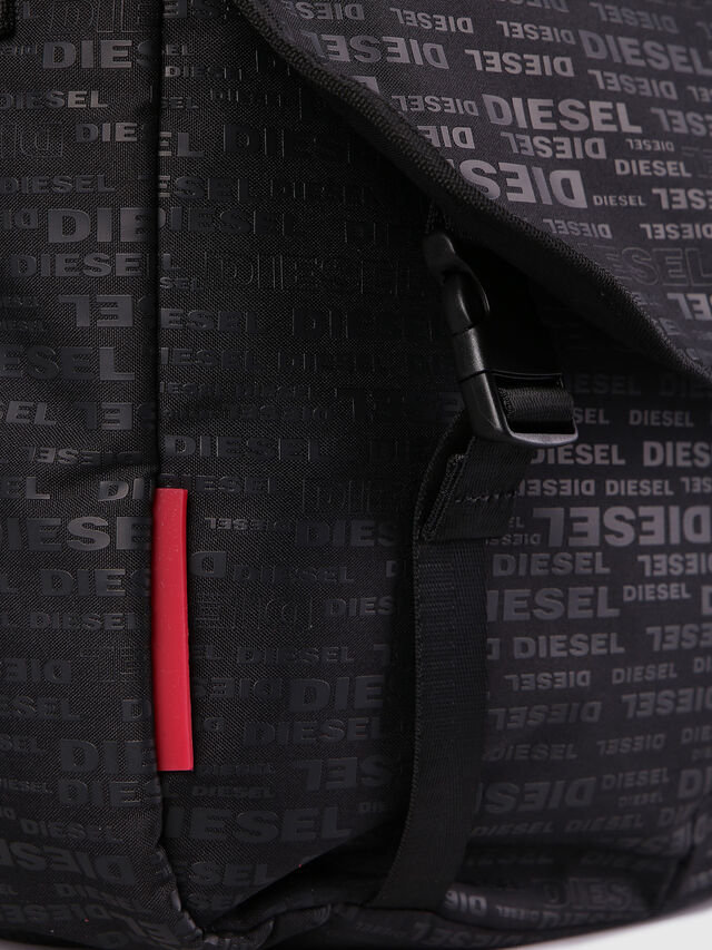 Diesel F-DISCOVER MESSENGER, Black/Red - Crossbody Bags - Image 5