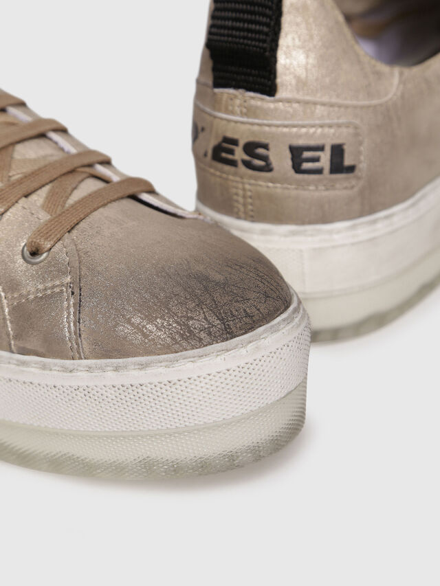 Diesel - S-LENGLAS LOW LACE, Gold - Sneakers - Image 4