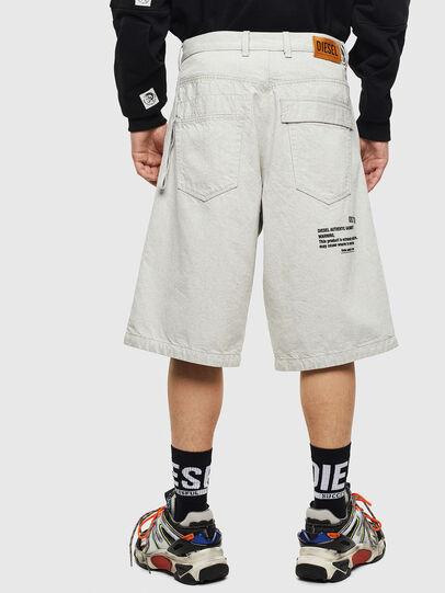 Diesel - D-RON, White - Shorts - Image 2