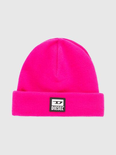 Diesel - K-XAU, Pink Fluo - Knit caps - Image 1