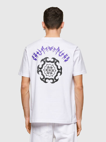 Diesel - T-JUST-E15, White - T-Shirts - Image 2