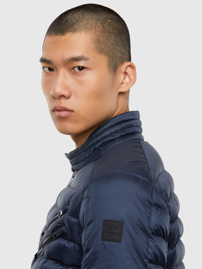 Diesel - W-DOLMIR-KA, Dark Blue - Winter Jackets - Image 3