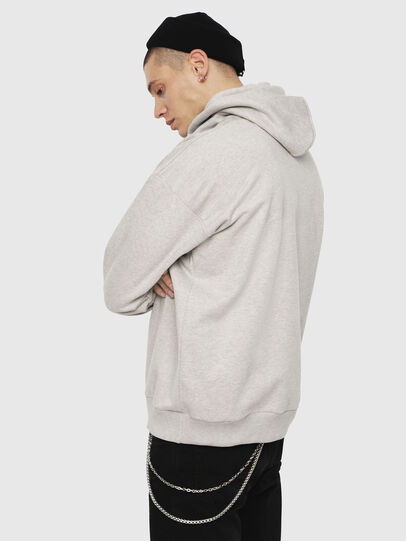 Diesel - S-DIVISION, Light Grey - Sweaters - Image 2