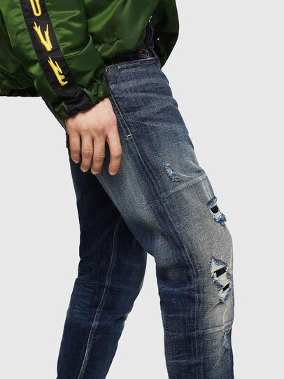 Diesel - D-Strukt 0890W, Dark Blue - Jeans - Image 3