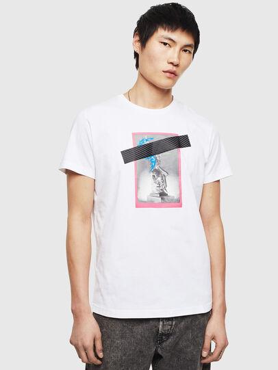 Diesel - T-DIEGO-S8, White - T-Shirts - Image 1