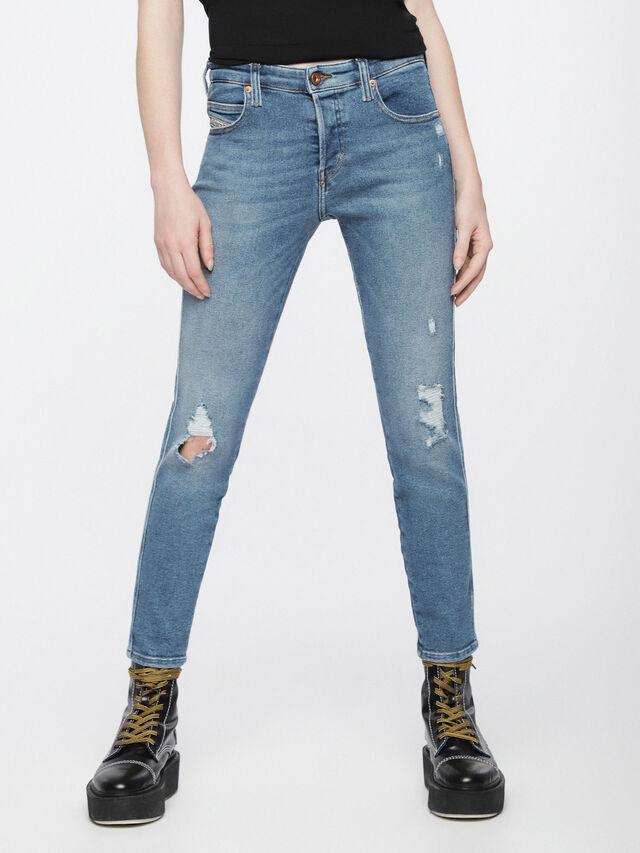 Diesel - Babhila 084WP, Light Blue - Jeans - Image 2