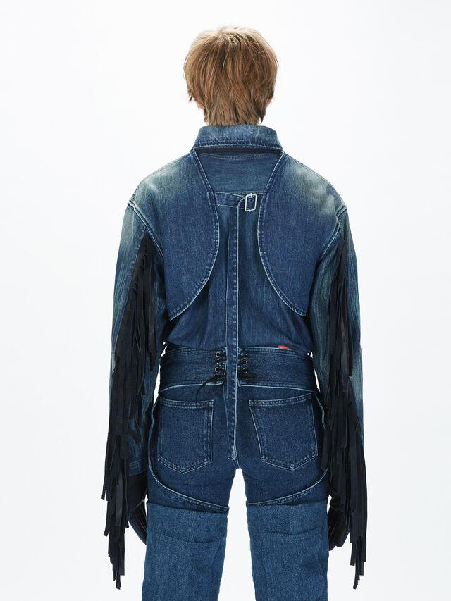Diesel - SOGLV01-KIT, Blue Jeans - Gloves - Image 6