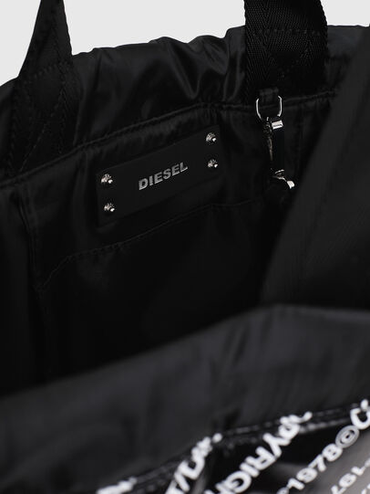 Diesel - COPYBACK, Black/White - Backpacks - Image 4