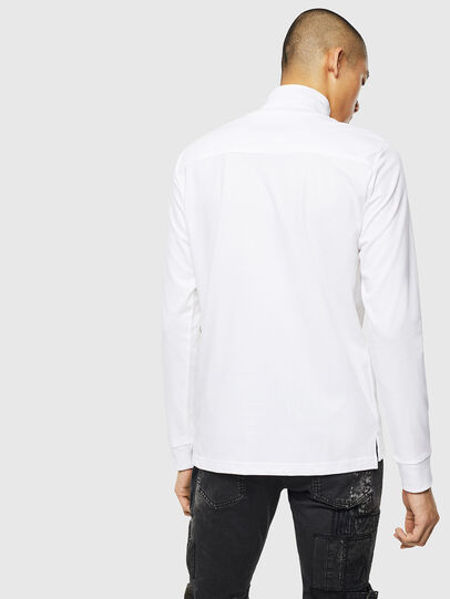 Diesel - T-DIEGO-LS-DOLCE, White - T-Shirts - Image 2