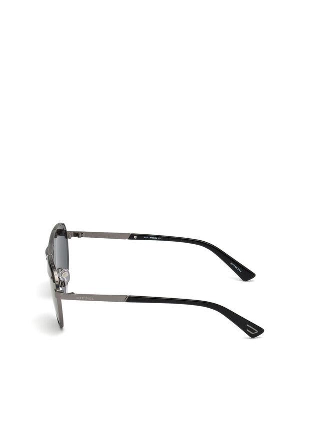 Diesel - DL0261, Black/Grey - Eyewear - Image 3