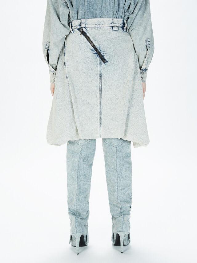 Diesel - SOBS01, Grey Jeans - Skirts - Image 4