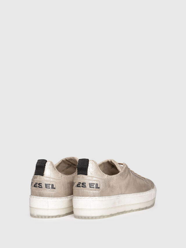 Diesel - S-LENGLAS LOW LACE, Gold - Sneakers - Image 3