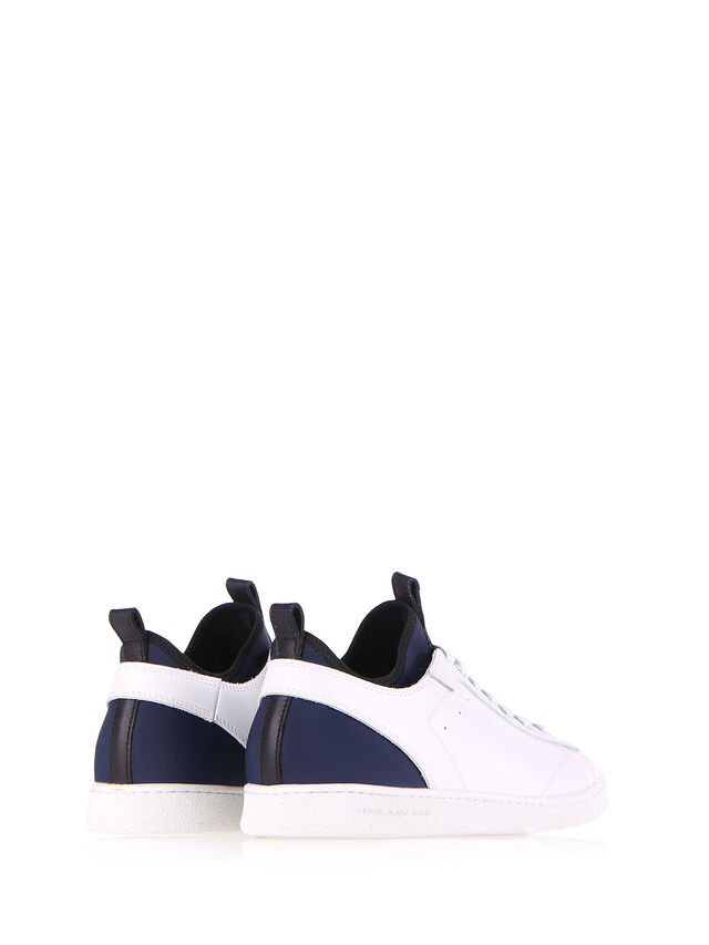 Diesel Black Gold S18ZERO, White - Sneakers - Image 3