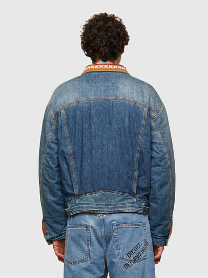Diesel - DxD-J3, Light Blue - Denim Jackets - Image 3